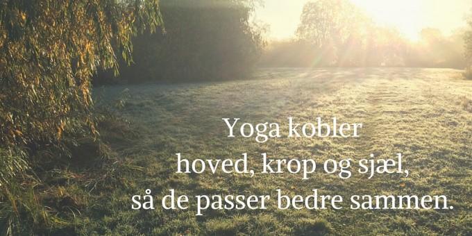 2 Yoga samler os