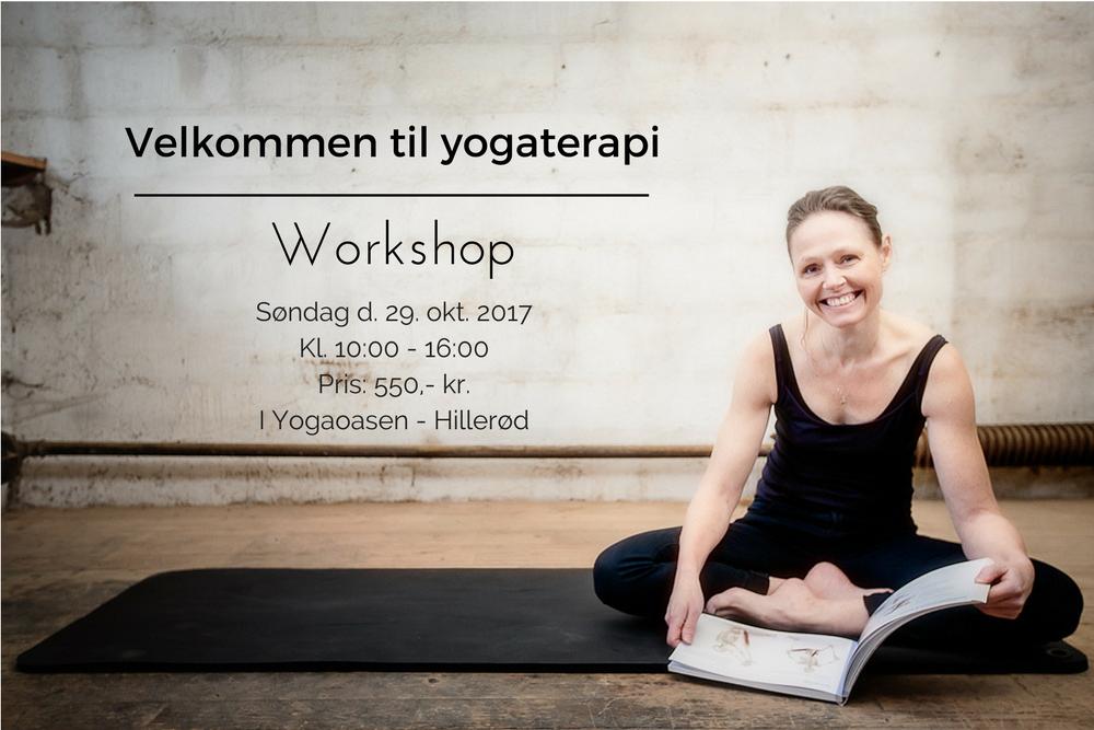 Yogaterapi, velkommen til